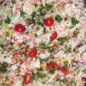 Groenteman-salade