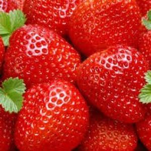 Aardbeien grote doos