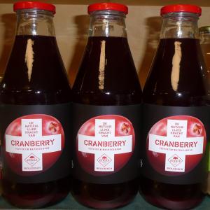 Cranberriesap puur